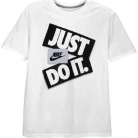 4c9ca770 Nike Shirts & Tops   Boys Sportswear Just Do It Tshirt   Poshmark